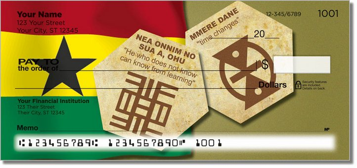 Adinkra Personal Checks