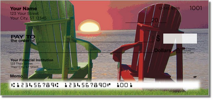 Adirondack Chair Personal Checks