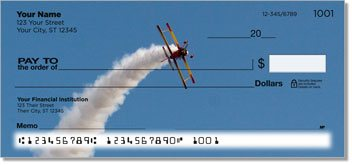 Aerobatic Air Show Personalized Checks
