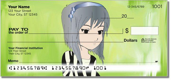 Anime Personal Checks