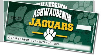 Ashwaubenon Academic Side Tear Personalized Checks
