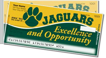 Ashwaubenon Athletic Side Tear Personalized Checks