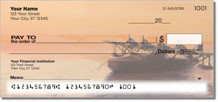 Aviation Art Personal Checks