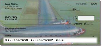 Aviation Art Personalized Checks