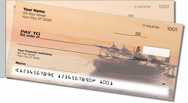 Aviation Art Side Tear Personal Checks
