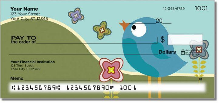 Baby Bluebird Personal Checks