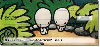 Babybol Love Over Distance Personalized Checks