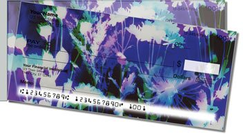 Bacca Floral Side Tear Personalized Checks