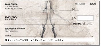 Ballerina Personalized Checks