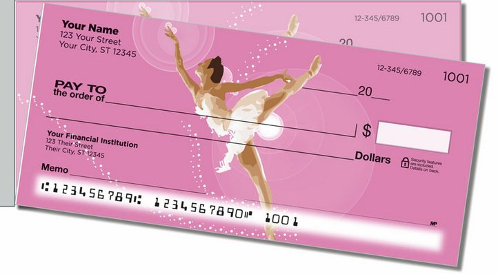 Ballet Side Tear Personal Checks