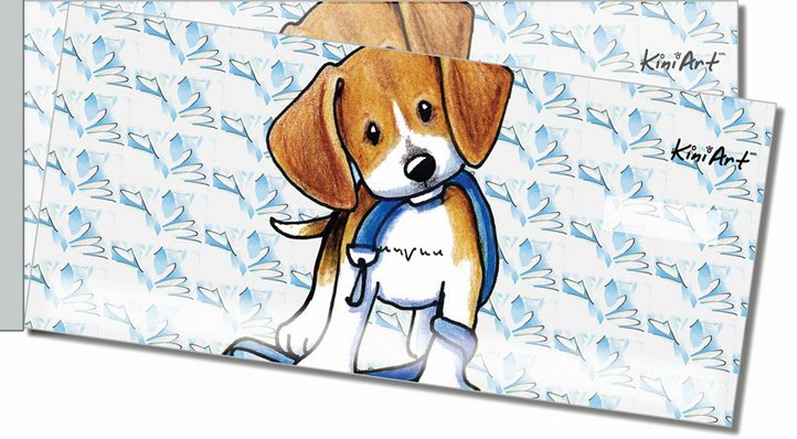 Beagle Side Tear Personal Checks