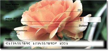 Beautiful Rose Personalized Checks