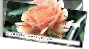 Beautiful Rose Side Tear Personalized Checks