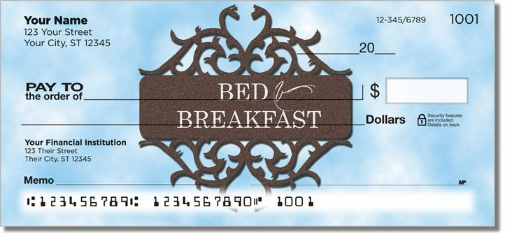 Bed and Breakfast Personal Checks