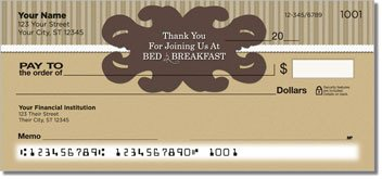 Bed and Breakfast Personalized Checks