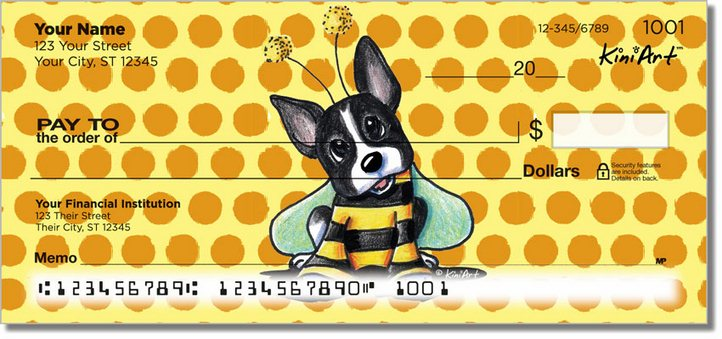 Bee Series Personal Checks