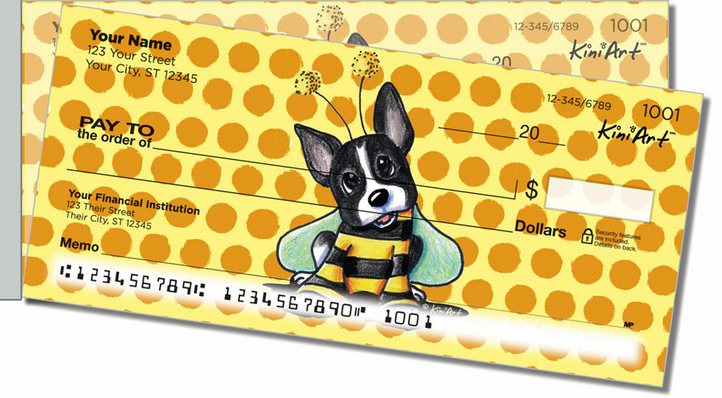 Bee Series Side Tear Personal Checks