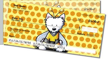 Bee Series Side Tear Personalized Checks