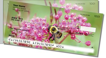 Bee Side Tear Personalized Checks