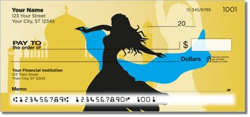 Belly Dancing Personalized Checks
