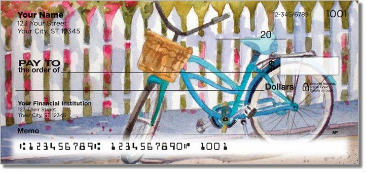 Bicycle Art Personal Checks