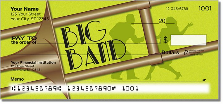Big Band Personal Checks
