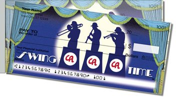 Big Band Side Tear Personalized Checks