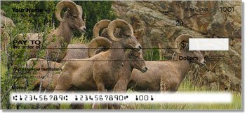 Big Horn Sheep Personalized Checks