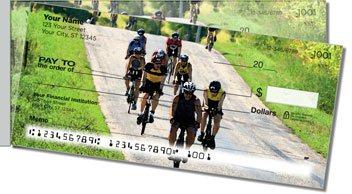 Bike Racing Side Tear Personalized Checks