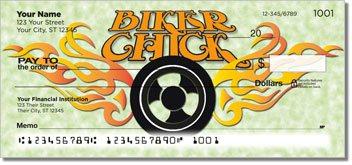 Biker Chick Design Checks