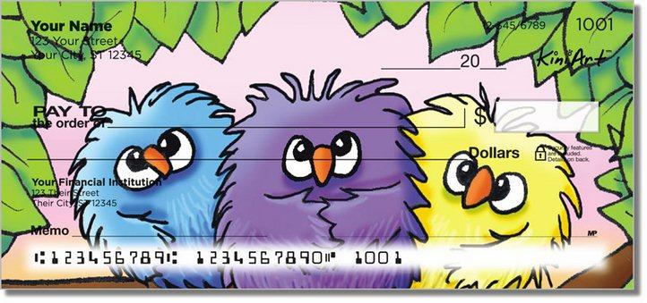 Bird Series Personal Checks