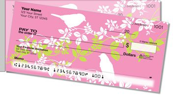 Bird on Branch Side Tear Personalized Checks