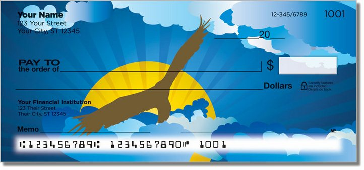 Birds in Flight Personal Checks