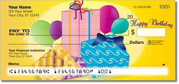 Birthday Personalized Checks