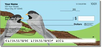 Black-Capped Chickadee Design Checks