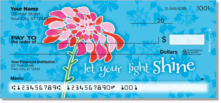 Blooming Gorgeous Personal Checks