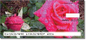 Blooming Rose Design Checks