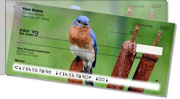 Bluebird Side Tear Personalized Checks