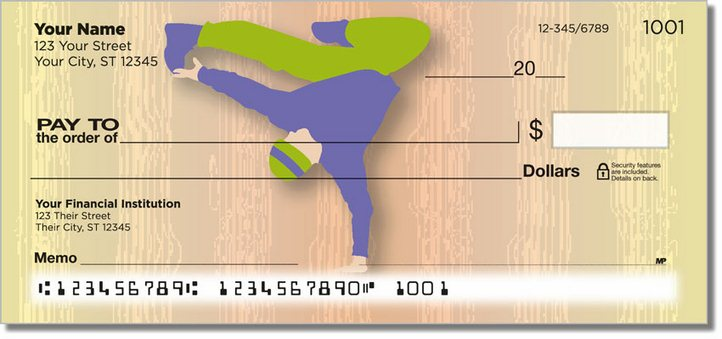 Break Dancing Personal Checks