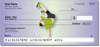 Break Dancing Personalized Checks