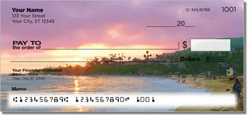 Bulone Beach Personalized Checks