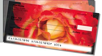 Bulone Bloom Side Tear Personalized Checks