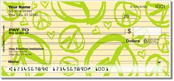 Cute Doodle Personalized Checks