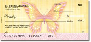 Beautiful Butterflies Personal Checks