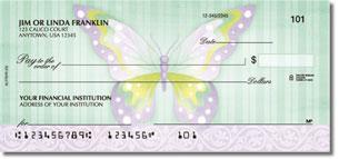 Beautiful Butterflies Personalized Checks