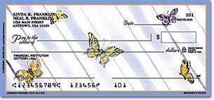 Cute as a Bug Personal Checks