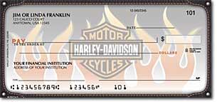 Harley-Davidson Live the Legend Personal Checks