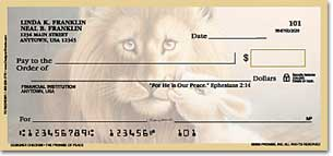 The Promise of Peace Personal Checks