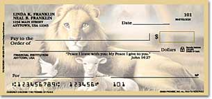 The Promise of Peace Personalized Checks
