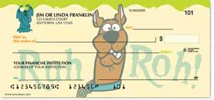 Scooby-Doo Personal Checks